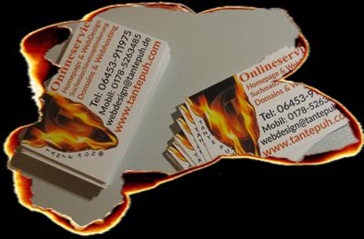 Visitenkarten Flyer Selbst Erstellen Und Online Drucken Lassen