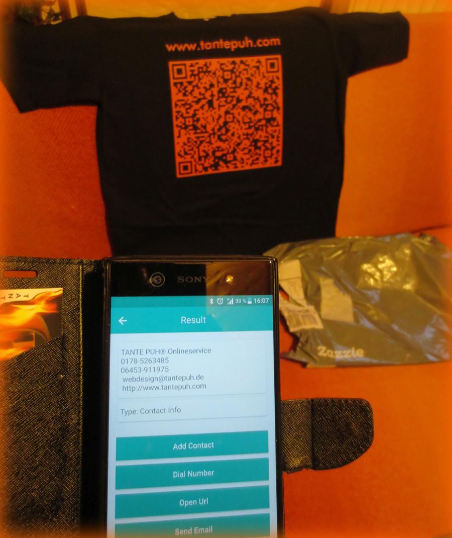 Test T-Sirt QR Code